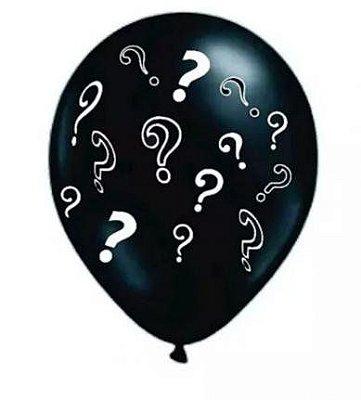 Balão N° 10- Chá Revelação - 25 unidades