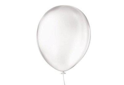 Balão Latex Cristal - Número 9