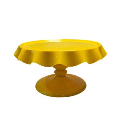 Boleira de Luxo - Amarelo - 27cm