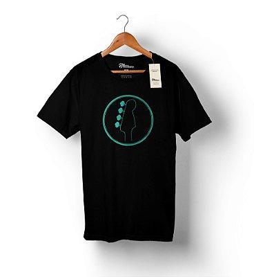 Camiseta Baixista Headstock 1