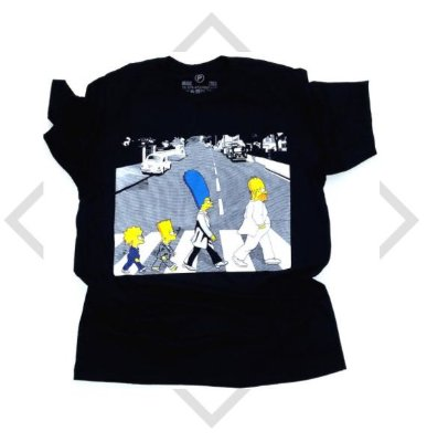 Camiseta Simpsons Abbey