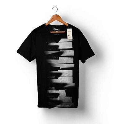 Camiseta Full Print - Teclas