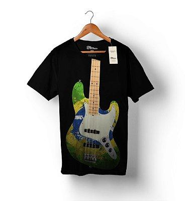 Camiseta Full Print - Bass Brasil