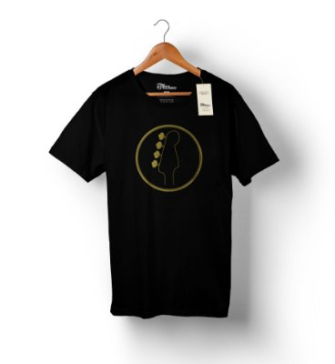 Camiseta linha Gold - Headstock 1