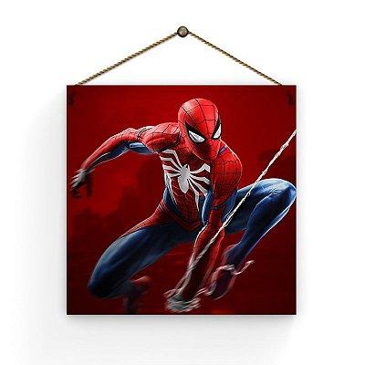 Placa - Homem Aranha 1 - 19 X 19