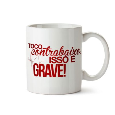 Caneca - Toco Contrabaixo