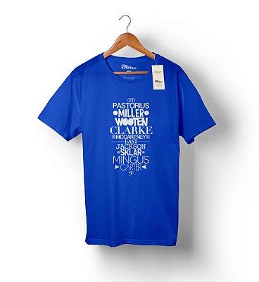 DUPLICADO - Camiseta Baixista The Groove Code