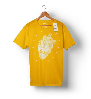 Camiseta Bass Heart
