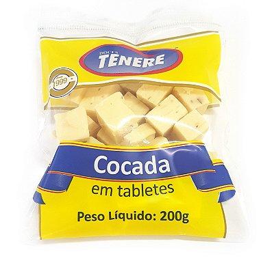 COCADA BRANCA EM TABLETES 200g - DOCES TENÉRE