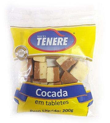 COCADA MISTA EM TABLETES 200g - DOCES TENÉRE