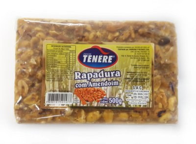 RAPADURA COM AMENDOIM 500g - DOCES TENÉRE