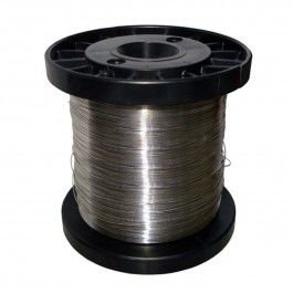 Fio de Aço Inox para Cerca Elétrica Fio 0,45 mm