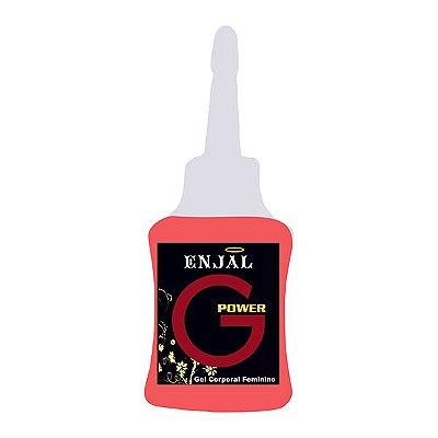 G Power Estimulador Ponto G Feminino 4 Funções 35 ml - Enjal - Ref: 22461