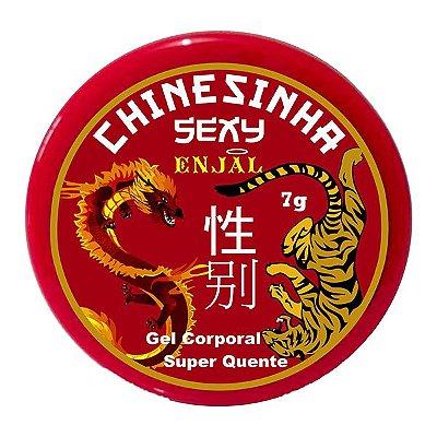 Chinesinha Sexy Pomada Super Excitante Aquecedora - Enjal - Ref: 22550