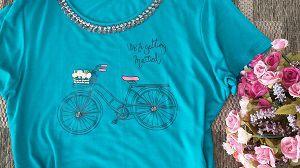 220 | T-Shirt Bicicleta Verde
