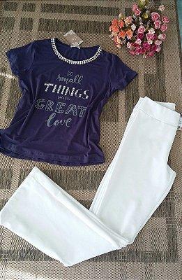 293 | T-Shirt Marinho