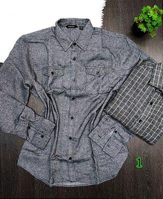 Camisa Masculina Flanela