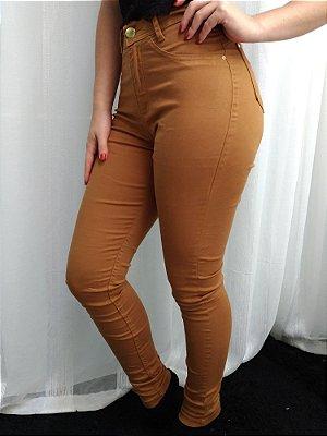 Calça Jeans Ozup Caramelo