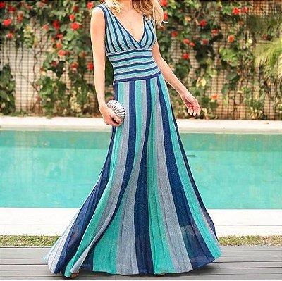 Vestido Tricot Color