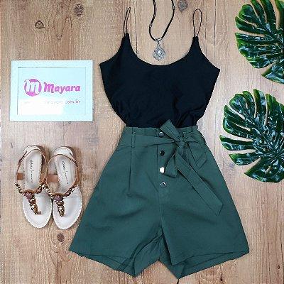 Shorts Chic com Amarra na Cintura