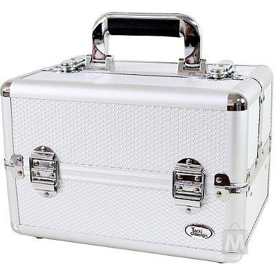 Maleta Jacki Design BHJ14077 Pró-Maquiagem Aluminio