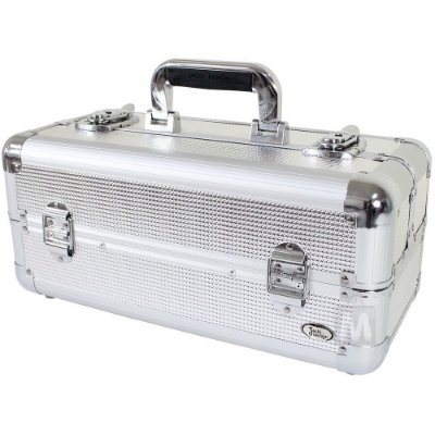 Maleta Jacki Design BHJ14128 Pró-Maquiagem Aluminio