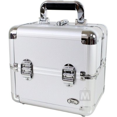 Maleta Jacki Design BSB14068 Pró-Maquiagem Alumínio