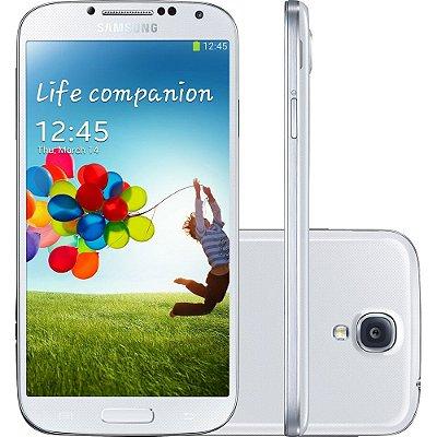 Smartphone Samsung Galaxy S4 Desbloqueado Branco Memória Interna 16GB