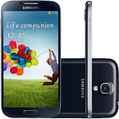 Smartphone Samsung Galaxy S4 Desbloqueado Preto Memória Interna 16GB