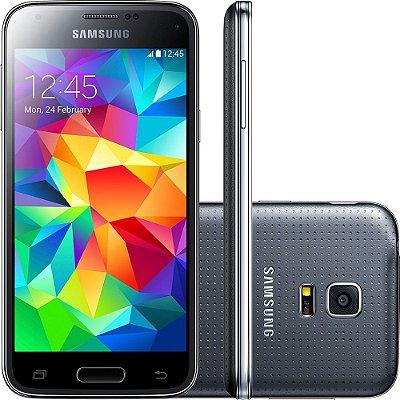 Smartphone Samsung Galaxy S5 Mini Duos Desbloqueado Dual Chip Preto