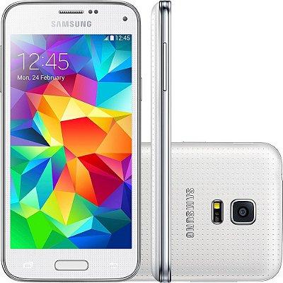 Smartphone Samsung Galaxy S5 Mini Duos Desbloqueado Dual Chip Branco