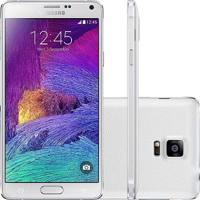 Smartphone Samsung Galaxy Note 4 Desbloqueado Branco 32BG de Memória