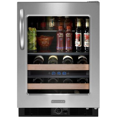 Adega KitchenAid Beverage Center KZB15AR Inox 152 Litros 110V