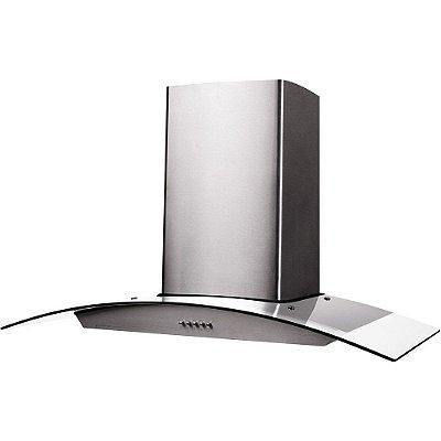 Coifa Cadence Gourmet CFA390 90cm Depurador Exaustor Inox