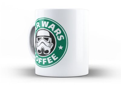 Caneca Star Wars Coffe