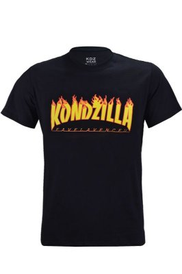 Camiseta KondZilla Flames