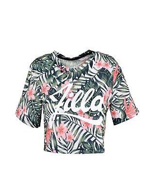 LANÇAMENTO | Top Cropped Tropical Zilla