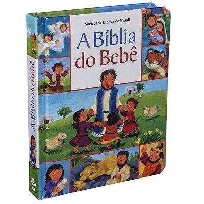 Bíblia do Bebê / 20 Histórias bíblicas /  capa almofadada- ilustrada - sbb