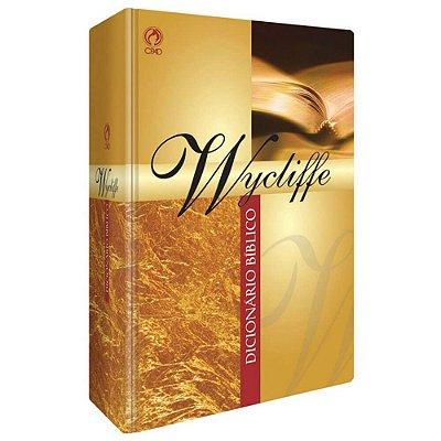 Dicionário Bíblico Wycliffe - capa dura - CPAD