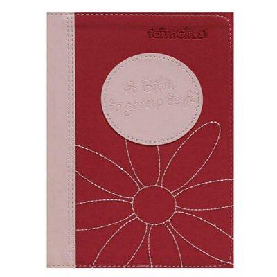 A Bíblia da garota de fé - nova tradução na linguagem de hoje / rosa / Nancy Rue / editora MC