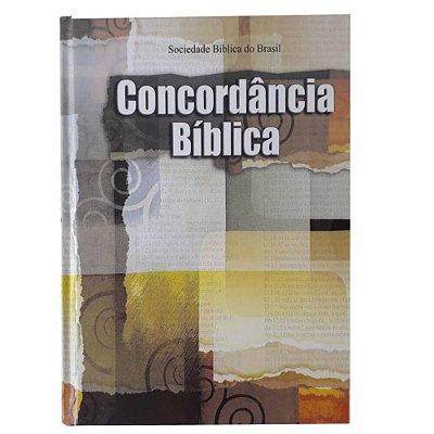 Concordância Bíblica / Almeida Revista e Atualizada / Capa dura ilustrada /  SBB