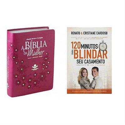 Bíblia da Mulher & 120 Minutos Para Blindar Seu Casamento