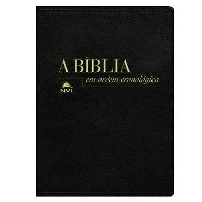 Bíblia Em Ordem Cronológica NVI