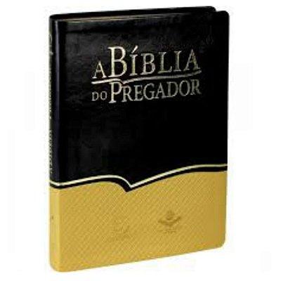 A Bíblia do pregador / Almeida revista e corrigida / amarelo preto/ Editora Esperança / SBB