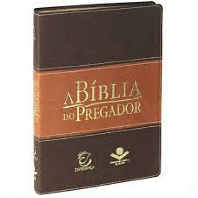 A Bíblia do pregador / Almeida revista e corrigida / Marrom / Editora Esperança / SBB