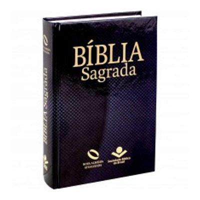 Bíblia Sagrada / Nova Almeida Atualizada / letra grande /capa dura preta / pequena / SBB