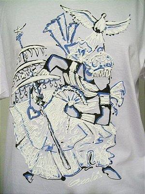 Camiseta Mercado da Salvação Oxalá - Feito à mão