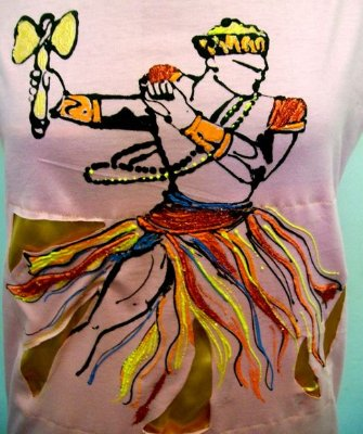 Camiseta Orixá Xangô