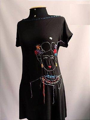 Vestido Bordado Frida