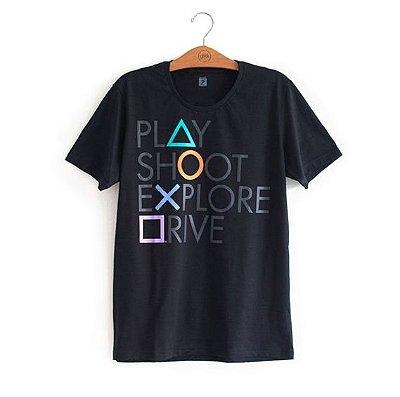 Camiseta Playstation Oficial